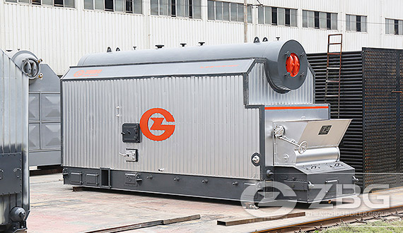 SZL Water Tube Bi-drum Steam Boiler