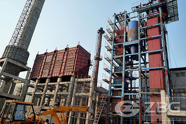 India 35t Circulating Fluidized Bed Power Plant Boiler