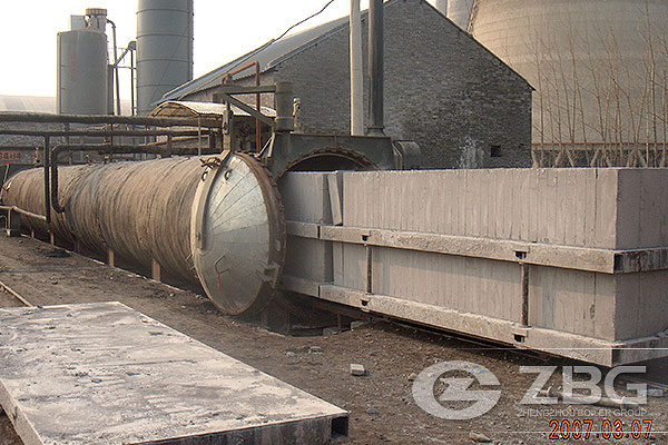 2.85x40m Autoclaves for AAC Plant