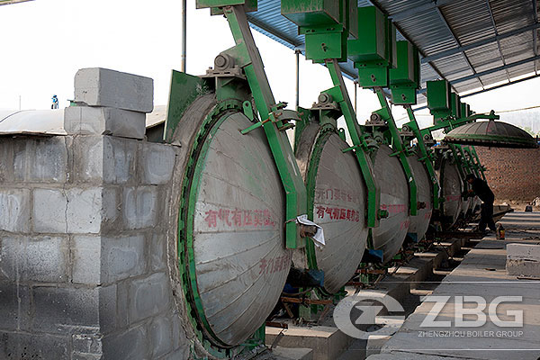 Aerated Autoclaved Concrete Blocks Autoclave Supplier China