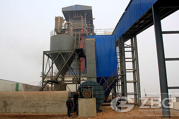 Coal Fired CFB Boiler in Paper Industry
