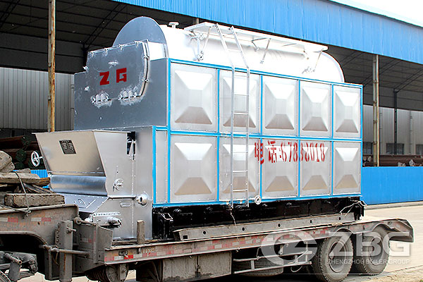 2 Ton Chain Grate Steam Boiler In Zambia
