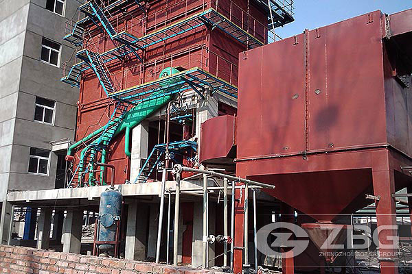 25 Ton CFB Steam Boiler in China