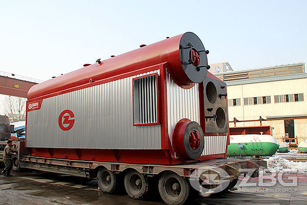 Water Tube 20TPH Coal Gas Fired Boiler