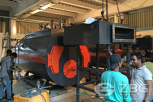 Two Sets of Gas Steam Boilers In Bangladesh Textile Industry