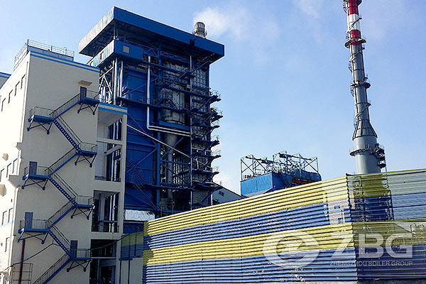 150 Ton CFB Power Plant Boiler China