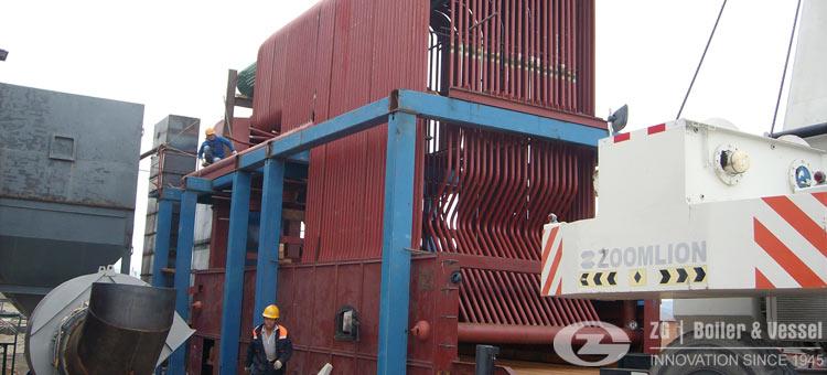 high efficiency chain grate boiler