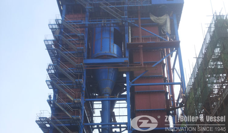energy saving CFB steam boiler