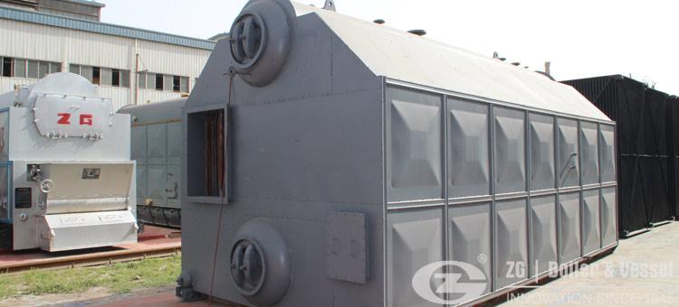 7mw coal fired hot water boiler