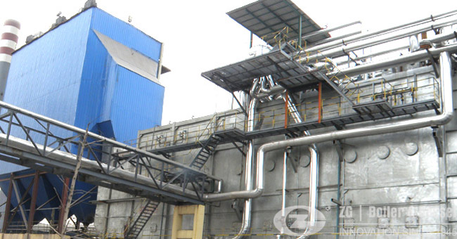 60 ton waste heat boiler for chemical industry