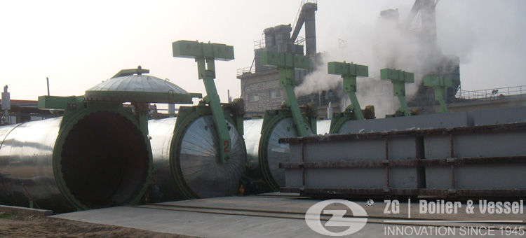 autoclaves for AAC block plant