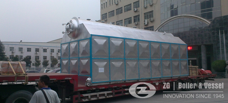 biomass steam boiler water tube type