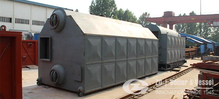 coal fired boiler bi-drum